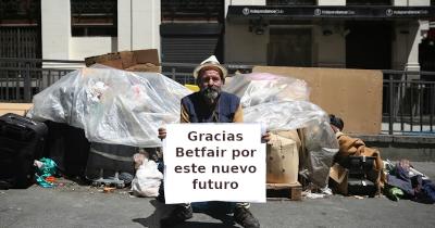 vagabundo cartel gracias betfair por este nuevo futuro
