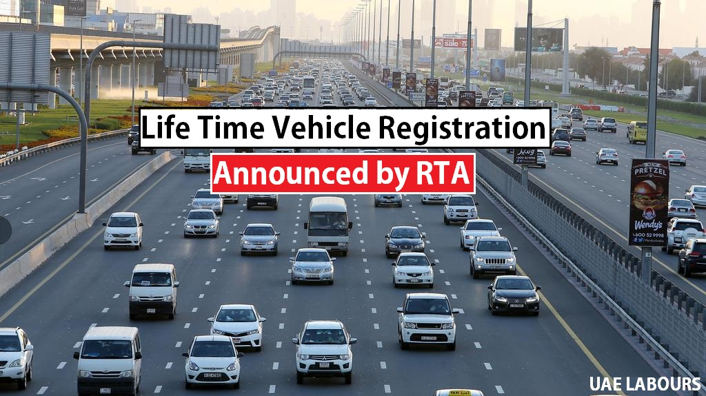 Life time Electronic Registration Card in Dubai and Abu Dhabi