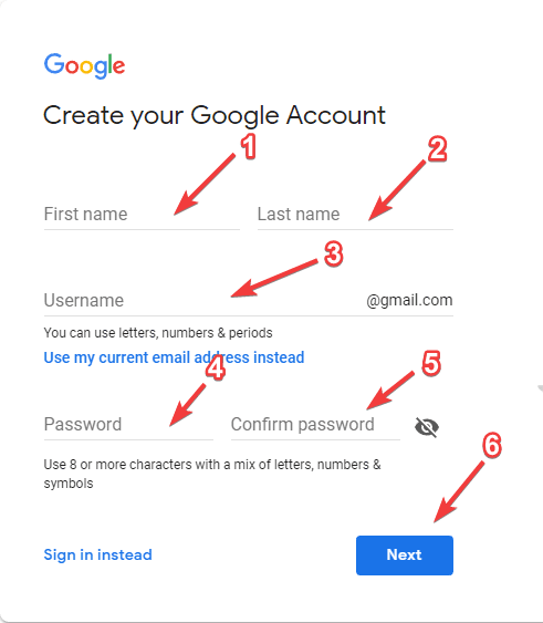 create-gmail-id-account