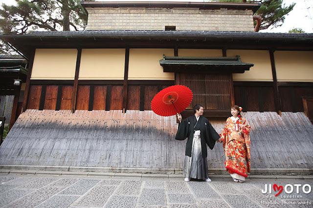 京都で和装ロケーション撮影