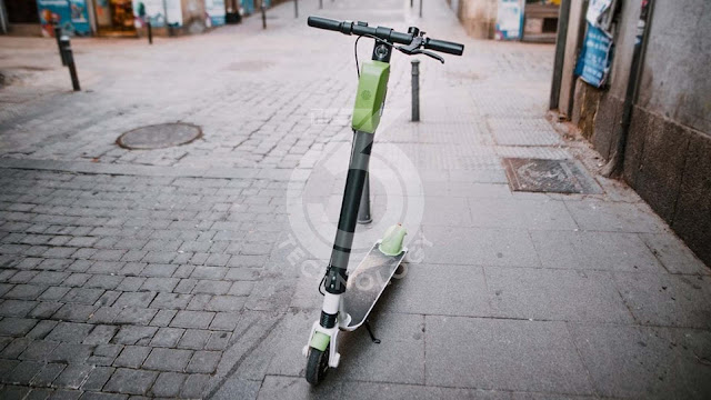 Scooters self-service: Paris will keep only three actors and 15 000 machines