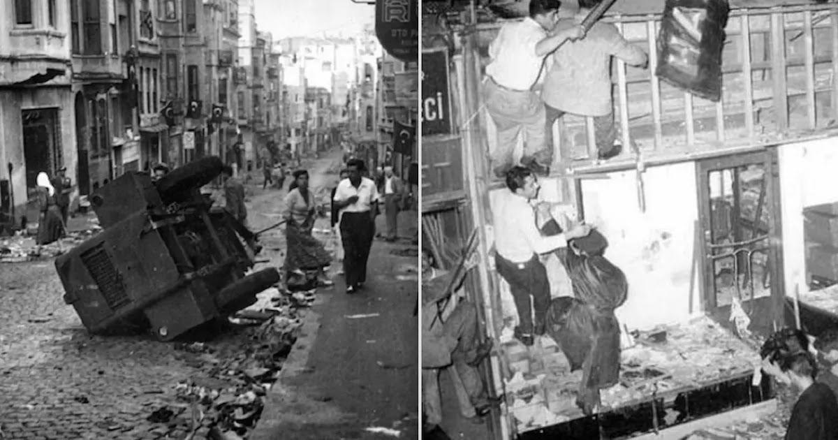 Remembering The Events Of September 1955 When An Anti-Greek Racist Pogrom In Turkey Killed Dozens Of Innocent People