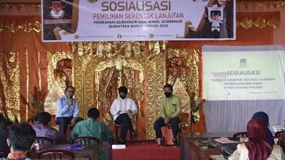 Gandeng KIM, KPU Kota Padang Panjang Bertekad  Raih Target Partisipasi Pemilih di Pilgub  Sumbar 2020