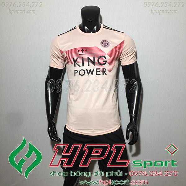 Áo câu lạc bộ Leicester City màu hồng 2020