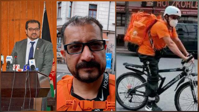 Kisah Eks Menteri Afghanistan yang Kini Jadi Pengantar Pizza di Jerman