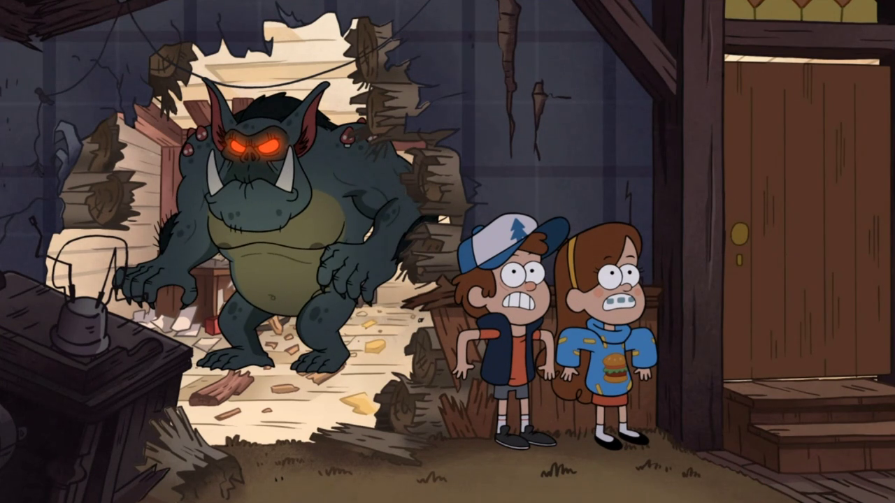 Animation Review: Gravity Falls | Animated Word Bubble