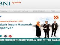 Bank BNI Syariah Program ODP Tanggal 25 July 2017