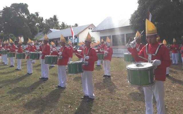 "Prestasi Membanggakan, "" 4 Tahun Drum Band Gita Bahana SMKN 2 Selayar, Iringi Upacara HUT RI Di Bontomanai """