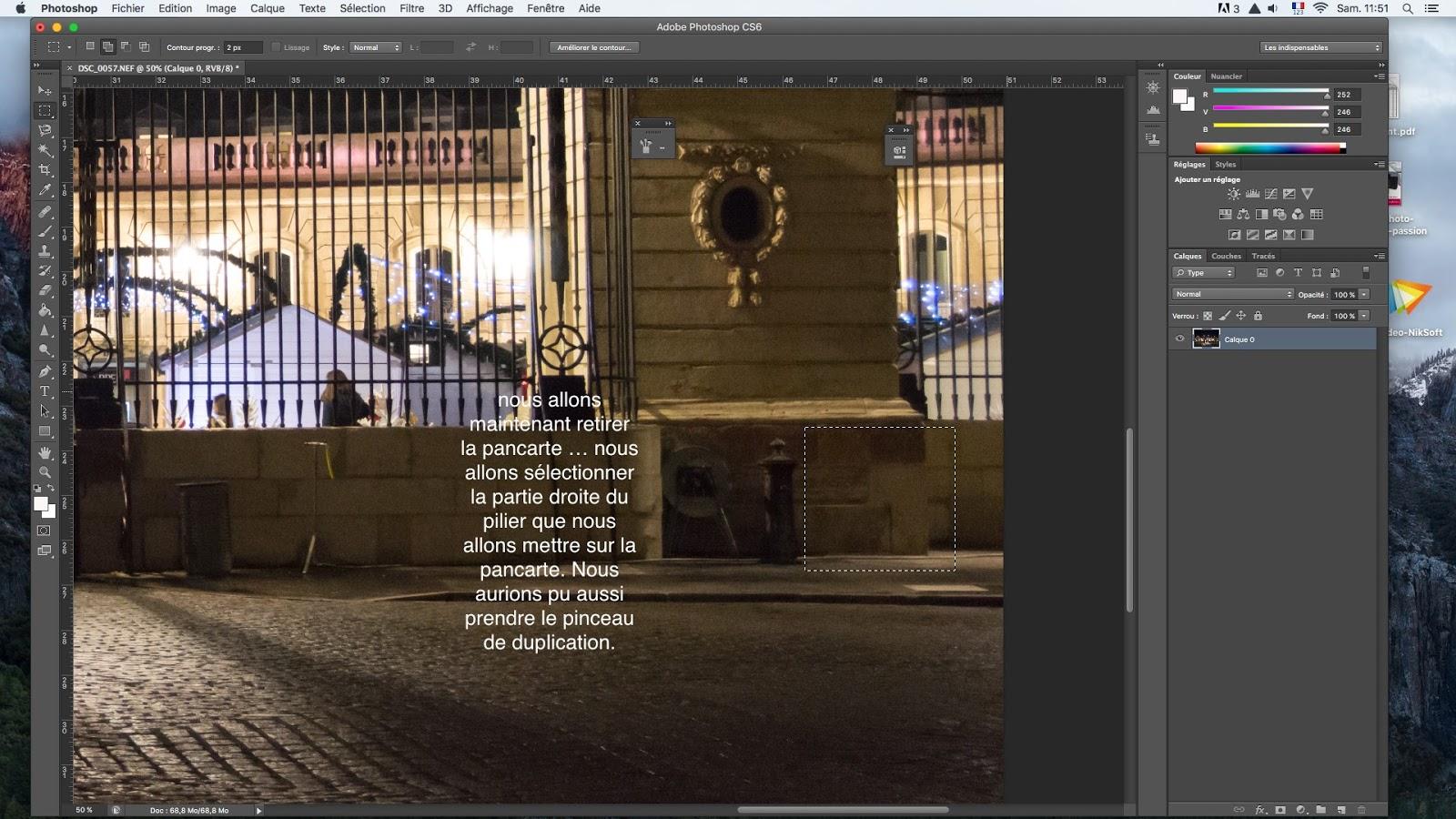Comment Enlever Des Elements Sur Photoshop
