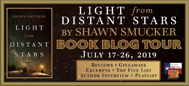 Light from Distant Stars book blog tour promotion banner