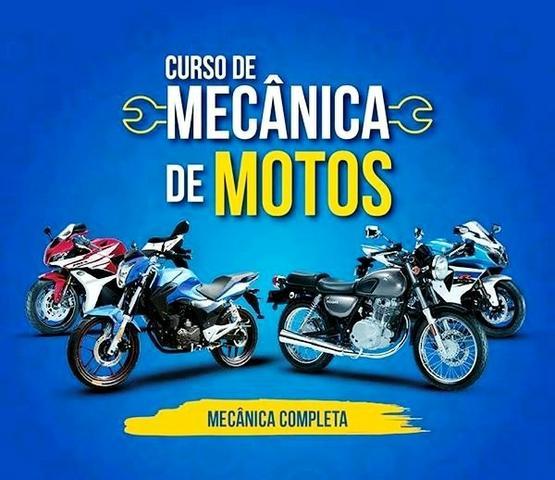 Curso Mecânico De Moto: Básico Ao Avançado Com Certificado é Bônus
