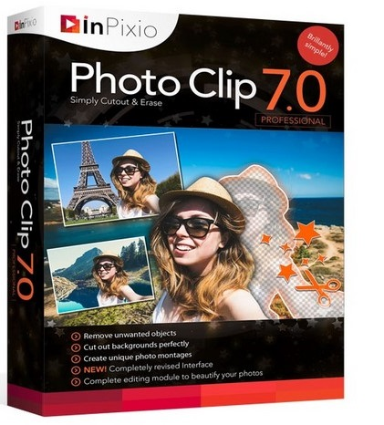 Avanquest InPixio Photo Clip Professional 7.04 poster box cover
