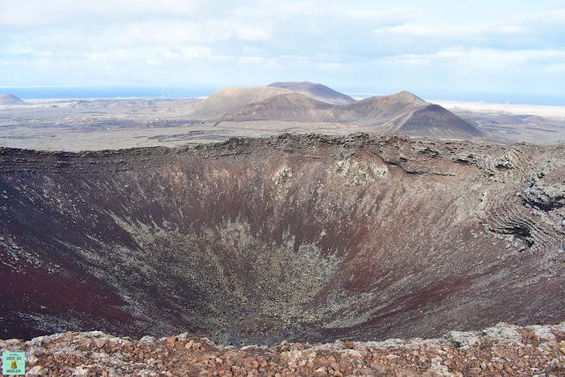 Volcán Calderón Hondo, Fuerteventura