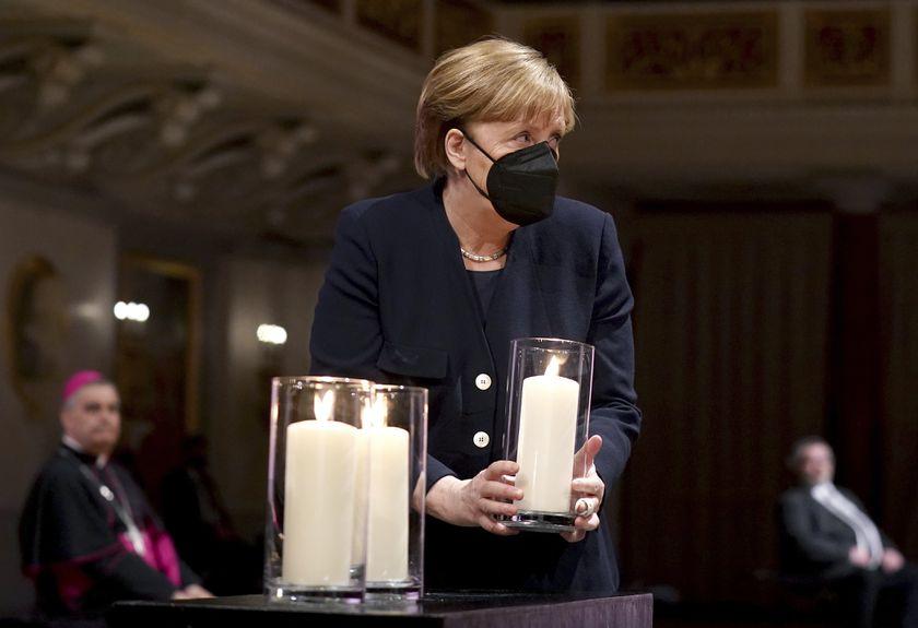 Alemania homenajeó a sus casi 80.000 muertos por coronavirus