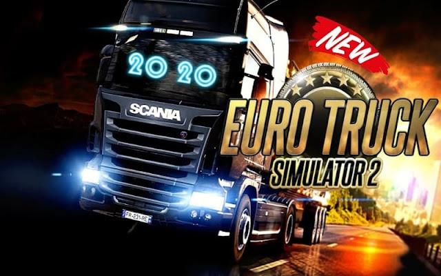 تحميل لعبة  Euro Truck Simulator 2 التحديث الجديد مجانا للكمبيوتر