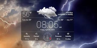 أفضل 3 تطبيقات الطقس للاندرويد