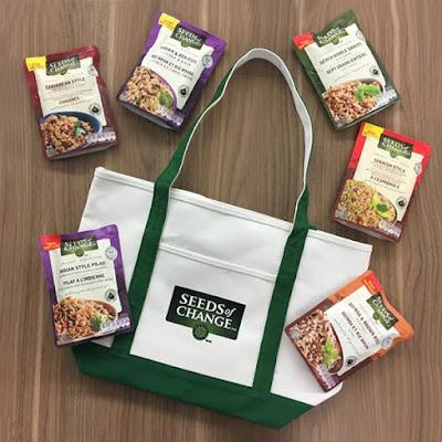 Seeds of Change Prize Pack Giveaway on Facebook!