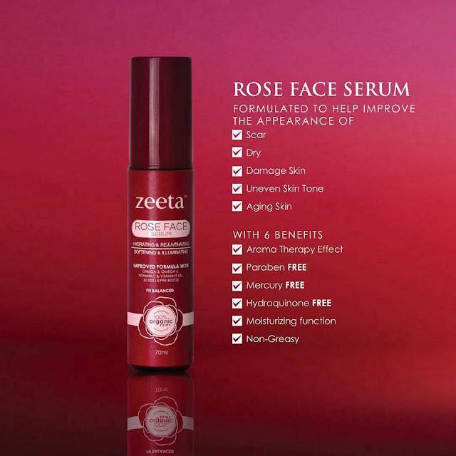 rose face serum, rfs, serum jerawat & jeragat