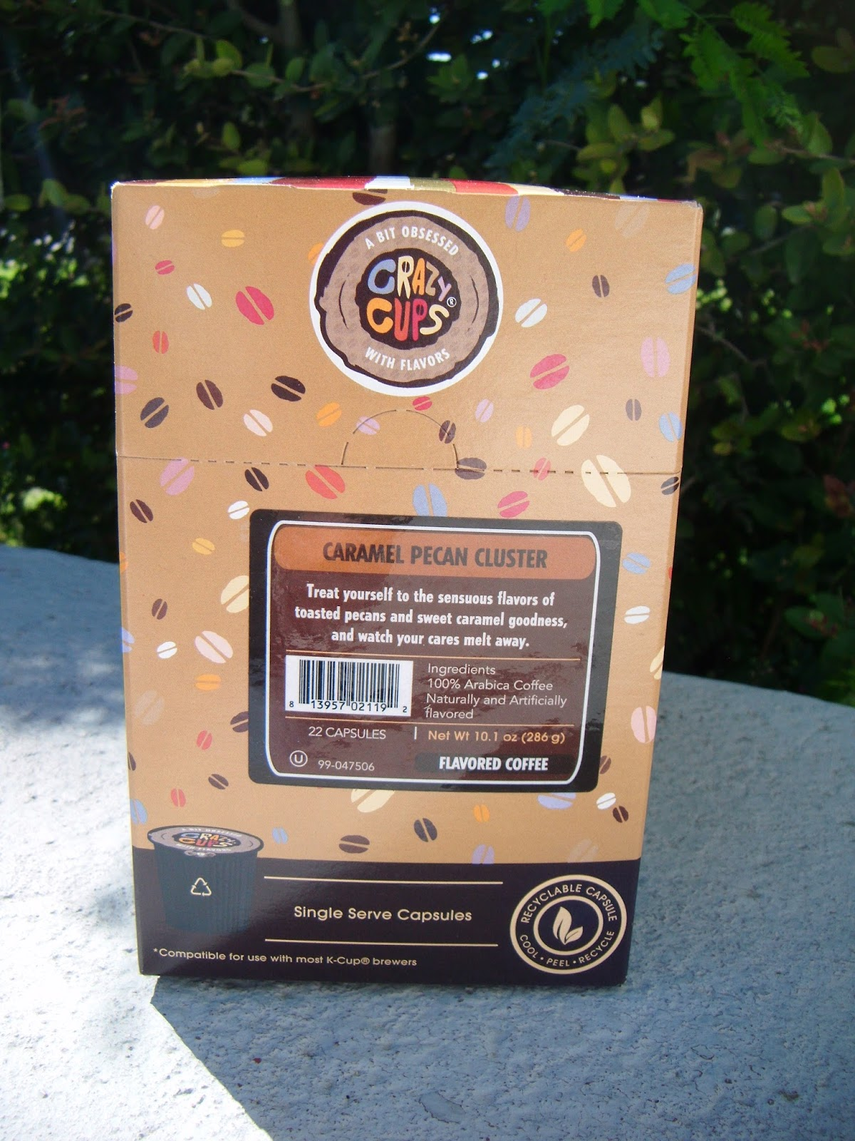 The Abcd Diaries Crazy Cups March Flavor Caramel Pecan