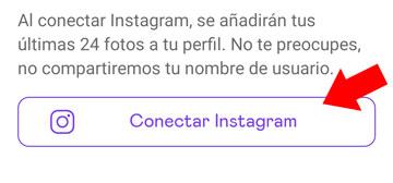 conectar instagram a badoo