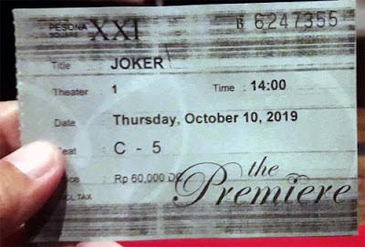 tiket di The Premier XXI Pesona Square Depok