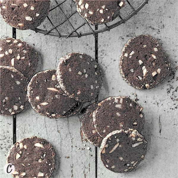 Chocolate 🍫 Almond Wafers