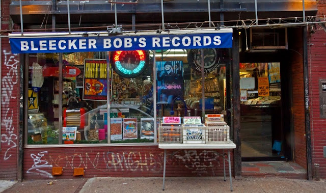 Bleecker Bob's - Greenwich Village NYC - Store Front