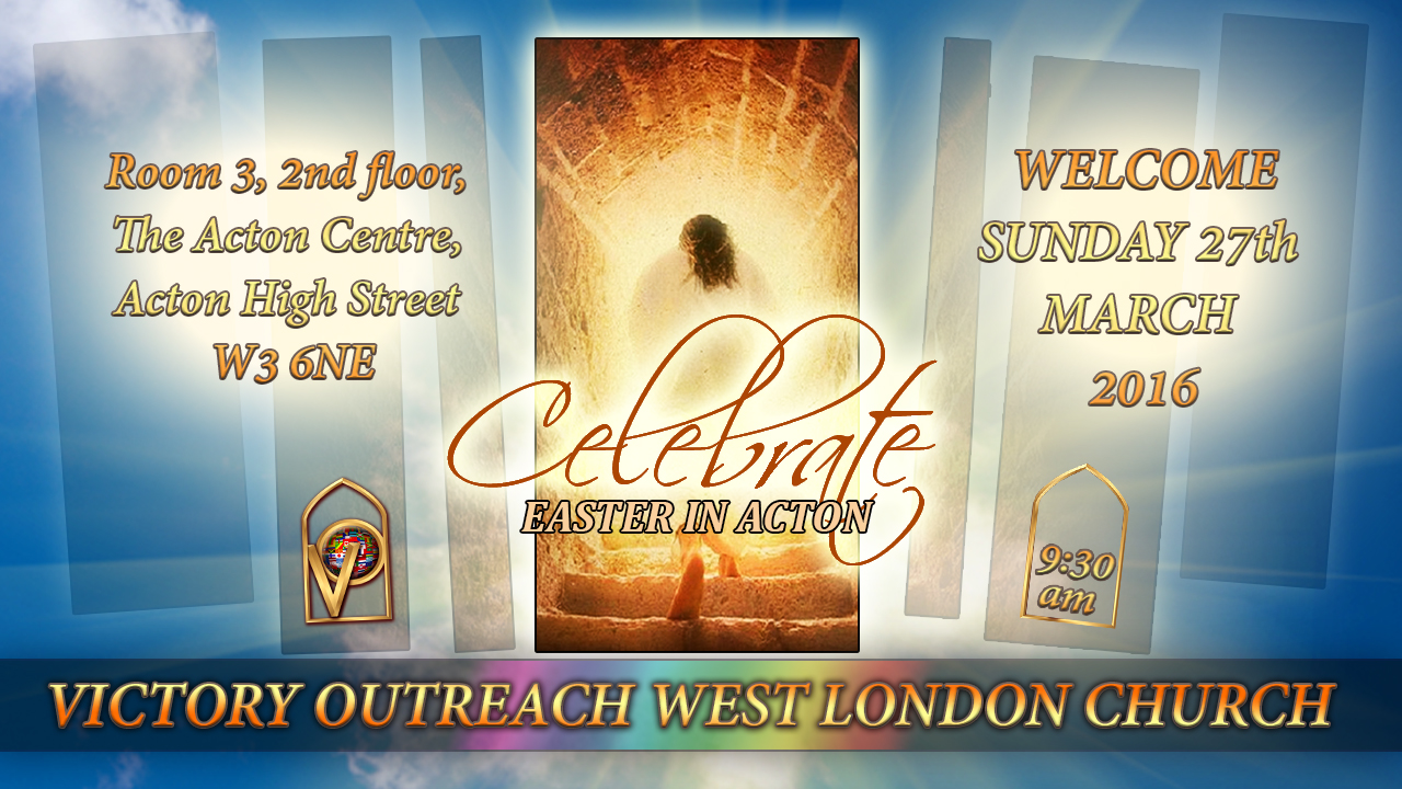 church flyers easter service flyer easter service flyer 27th 2016 victory outreach west london church
