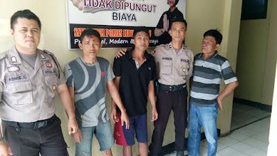 Polisi Bekuk Dua Orang Pelaku Percobaan Curat Dengan Modus Kempes Ban