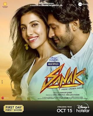 Sanak Movie Poster