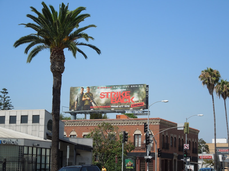 Strike Back season 2 billboard