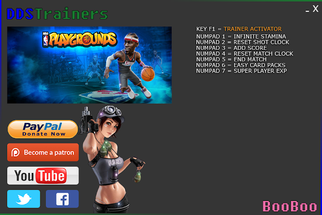 NBA Playgrounds Trainer and Cheats for PC