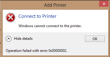 Cara Mengatasi Masalah Error Windows Cannot Connect to The Printer