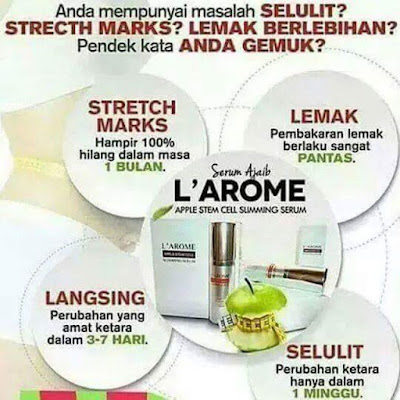 Manfaat Larome Slimming Serum