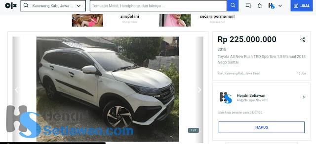 Pengalaman Jual Mobil Pribadi Sampai Laku Terjual | Terhindar Penipuan Pembeli