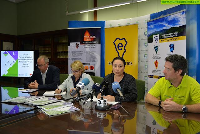 El Cabildo de La Palma será pionero en Canarias en la aprobación y puesta en marcha de un Plan de Actuación Insular Volcánica