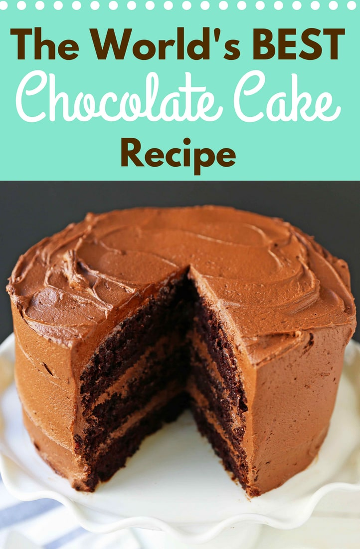 Chocolate Cake Recipe, How to make Homemade Chocolate Cake ...