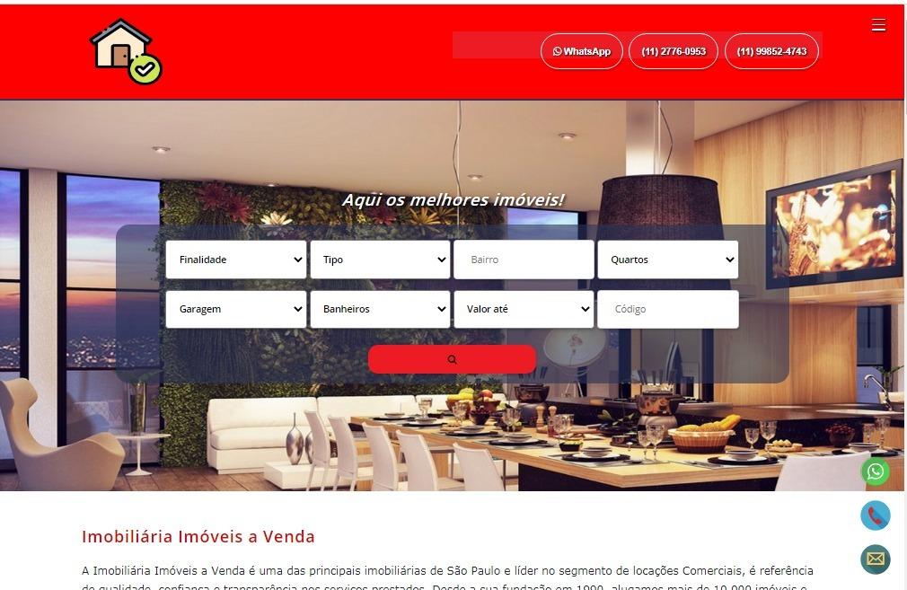 Template Blogger do Google para Imobiliárias