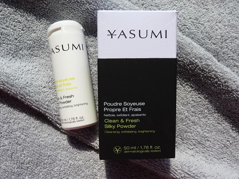 Yasumi Clean & Fresh, Silky Powder, oczyszczający puder peelingujący do mycia twarzy