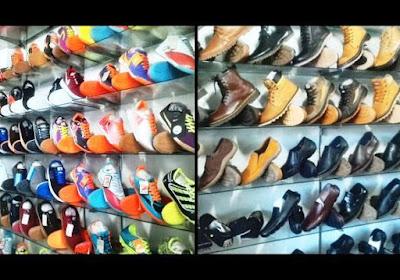 toko sepatu branded kota Medan
