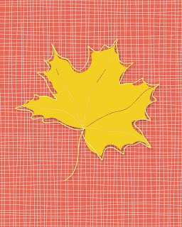 Free Fall Leaf Printables: Designed to be framed and hung together or separate. 8x10 sizes, prints on letter-sized paper.