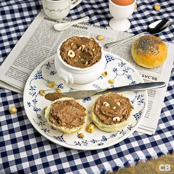 Recept Zelfgemaakte chocoladepasta met of zonder hazelnoten