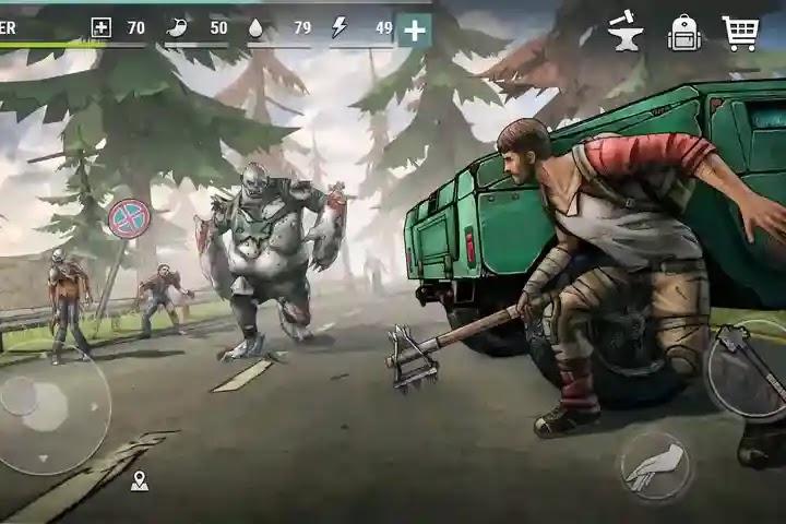 الأيام المظلمة  Dark Days: Zombie Survival  المعركة من أجل البقاء على قيد الحياة! قم بتنزيل اللعبة على هاتفك وابدأ المعركة!