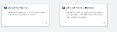 Discover keywords google keyword planner