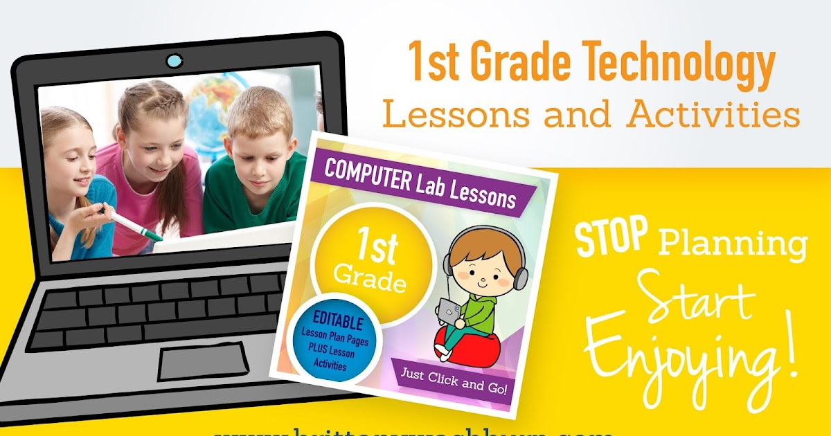 Technology Teaching Resources with Brittany Washburn: 1st Grade