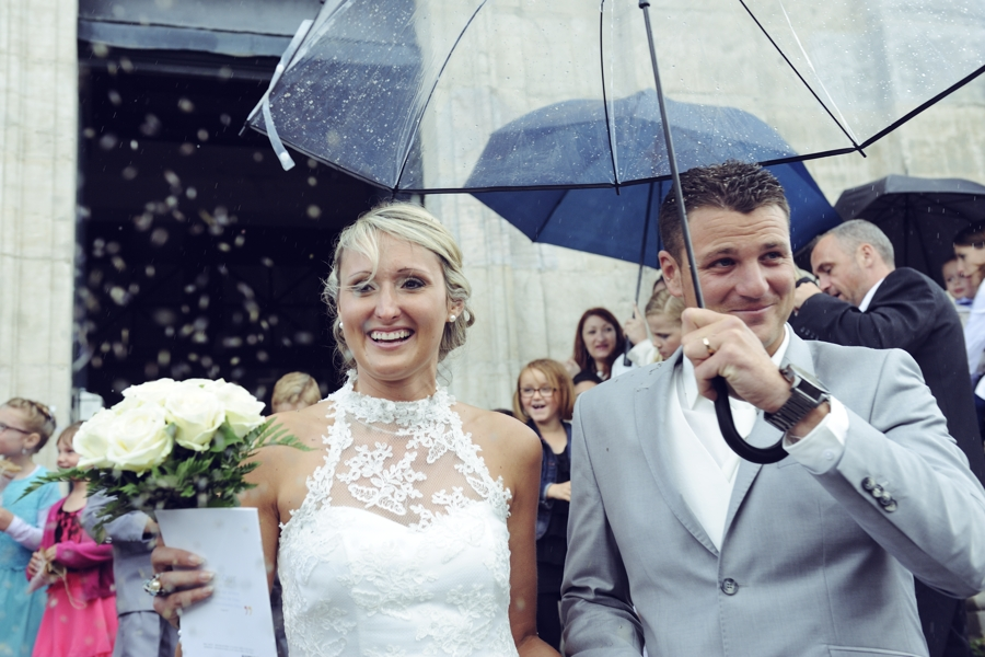 Pluie en Haute Saone pendant un mariage : de belles photos !