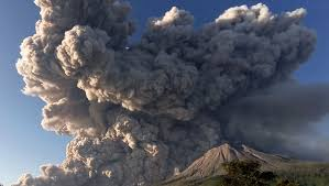 Indonesia's Sinabung erupts