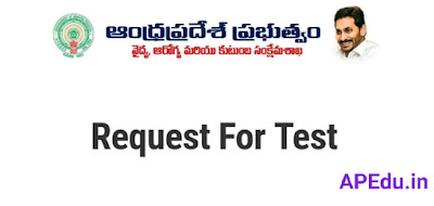If you want to do a Kovid test for anyone in your cluster..then if you give details online and submit..the relevant officer will contact you and test you.People should use this opportunity