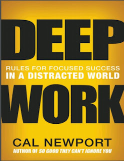 Deep Work:Rules for Focused Success in a Distracted World By Cal Newport 2021