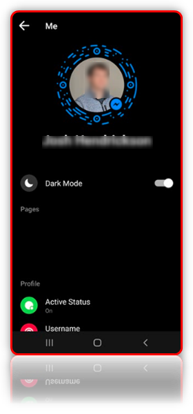 How to Enable Dark Mode for Facebook Messenger 2